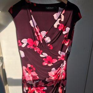 Ralph Lauren women's size 8 floral dress